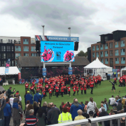 6mm Outdoor LED Screen - Rugby World Cup Fanzone