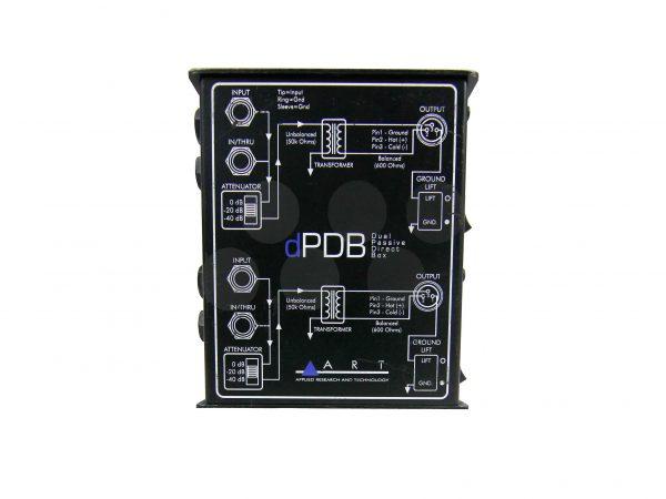 Art dPDB Duel Passive Direct Box