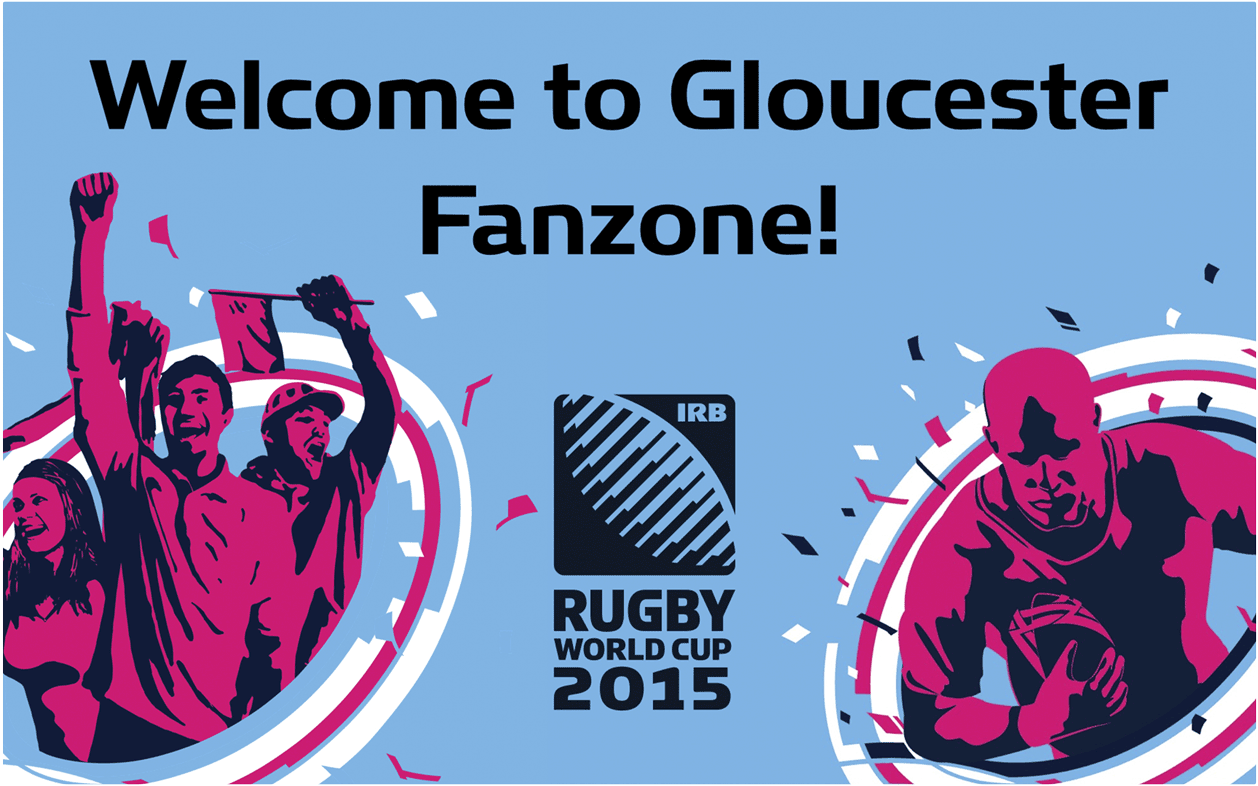 Gloucester Fanzone Welcome Slide