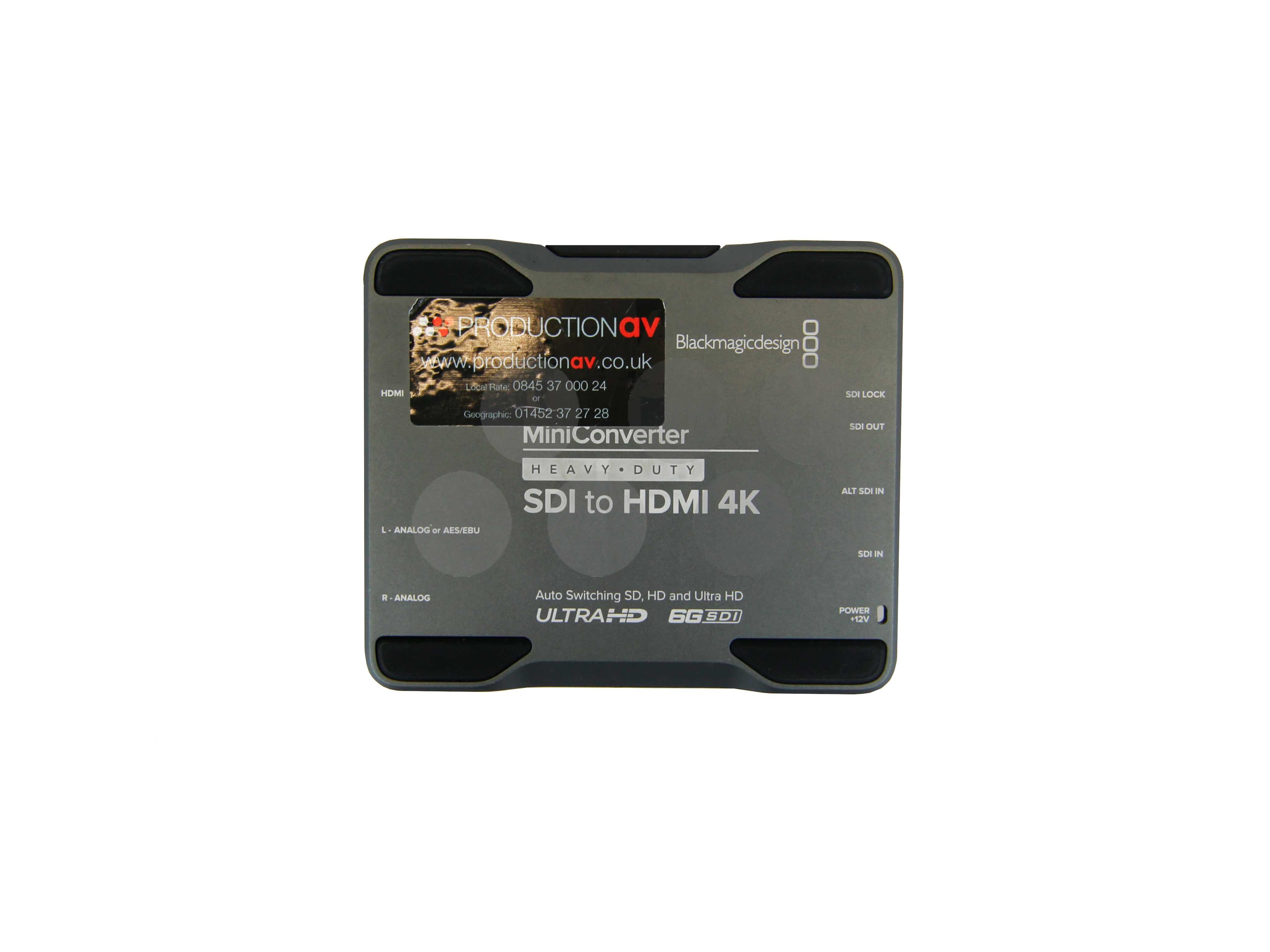 Blackmagic Designs Heavy Duty HD-SDI to HDMI Mini Convertor