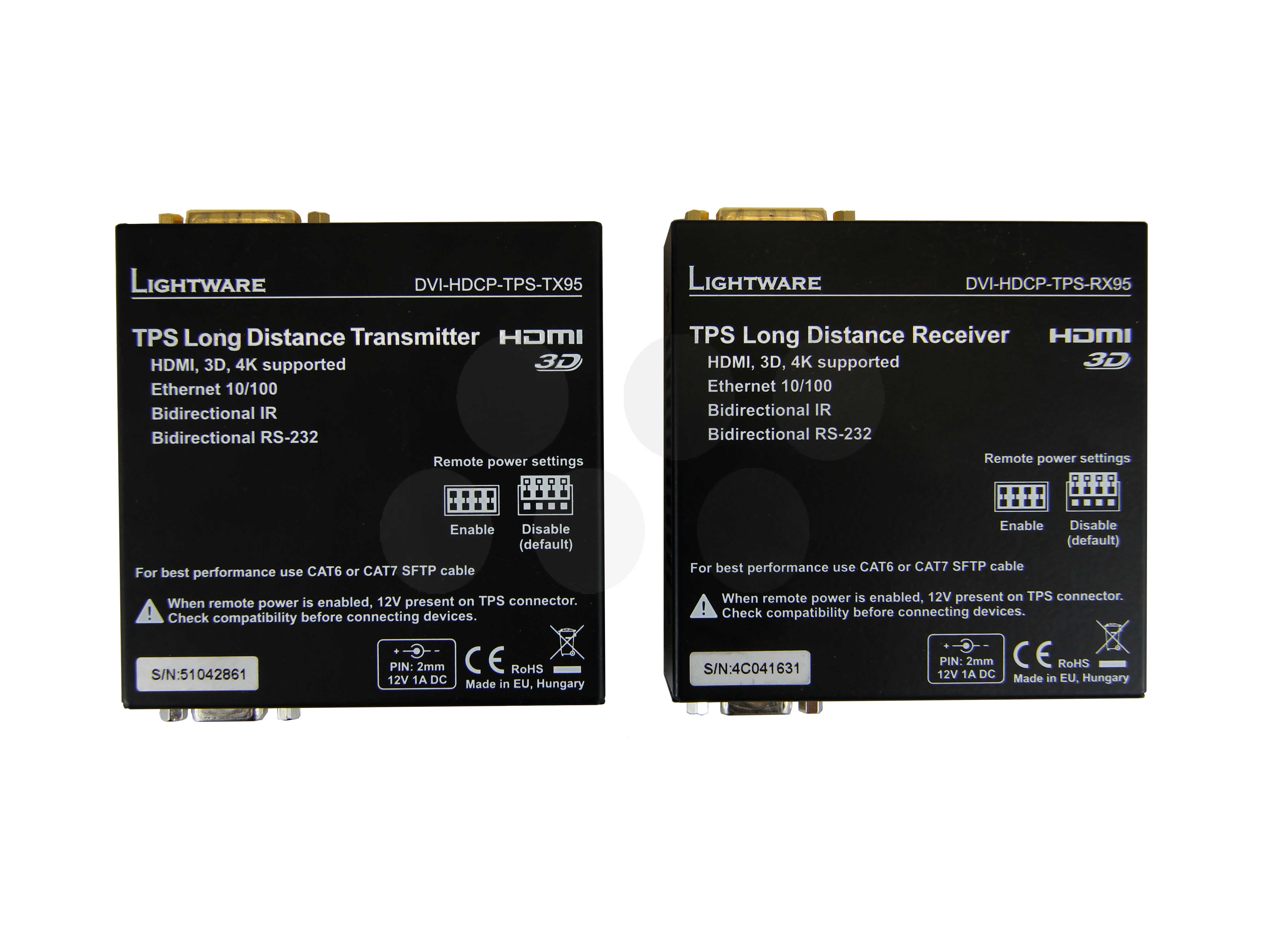 Lightware DVI-HDCP-TPS-TX95/RX95 Kit