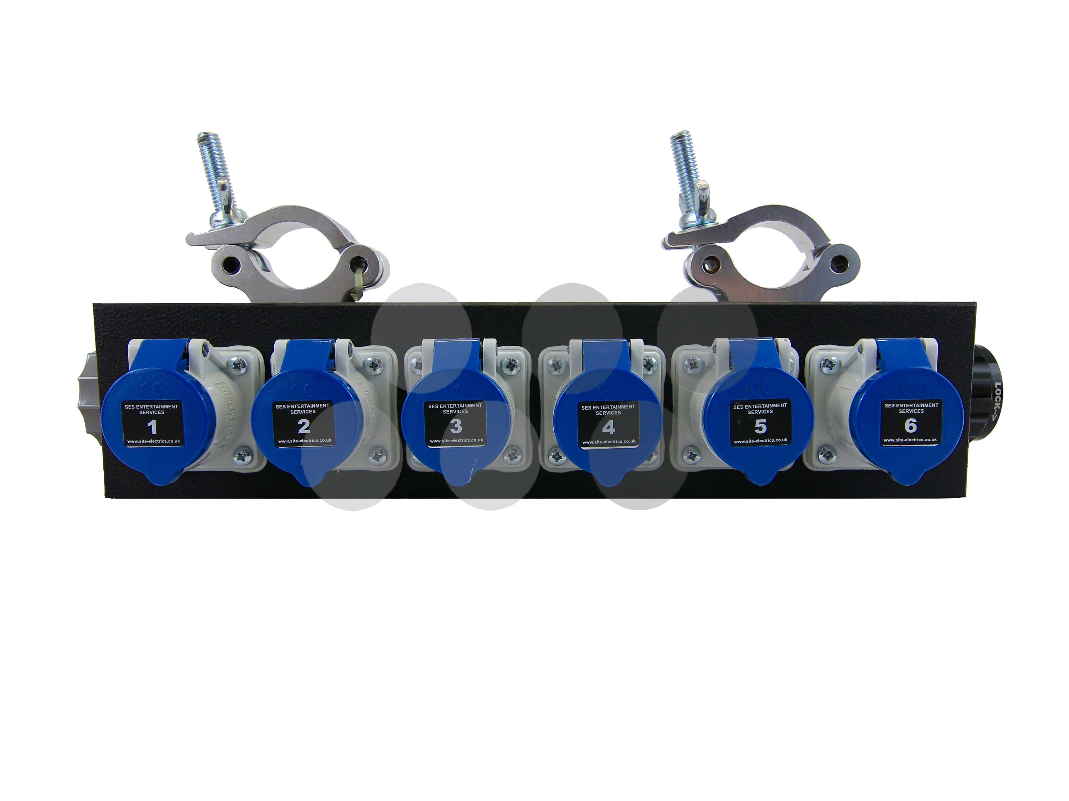 Socapex - 6 x 16A Truss Box