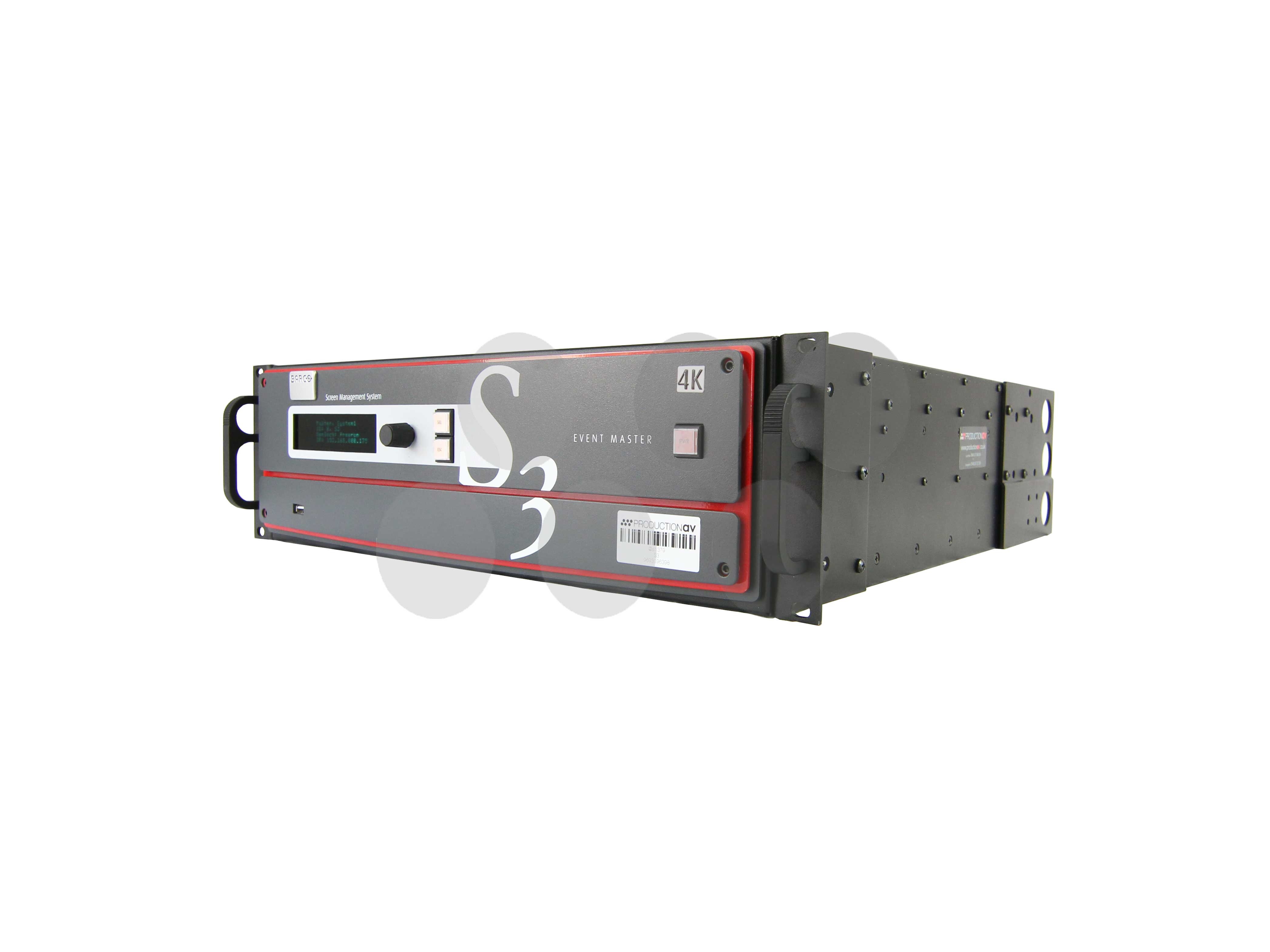 Barco S3-4K Compact Screen Management System