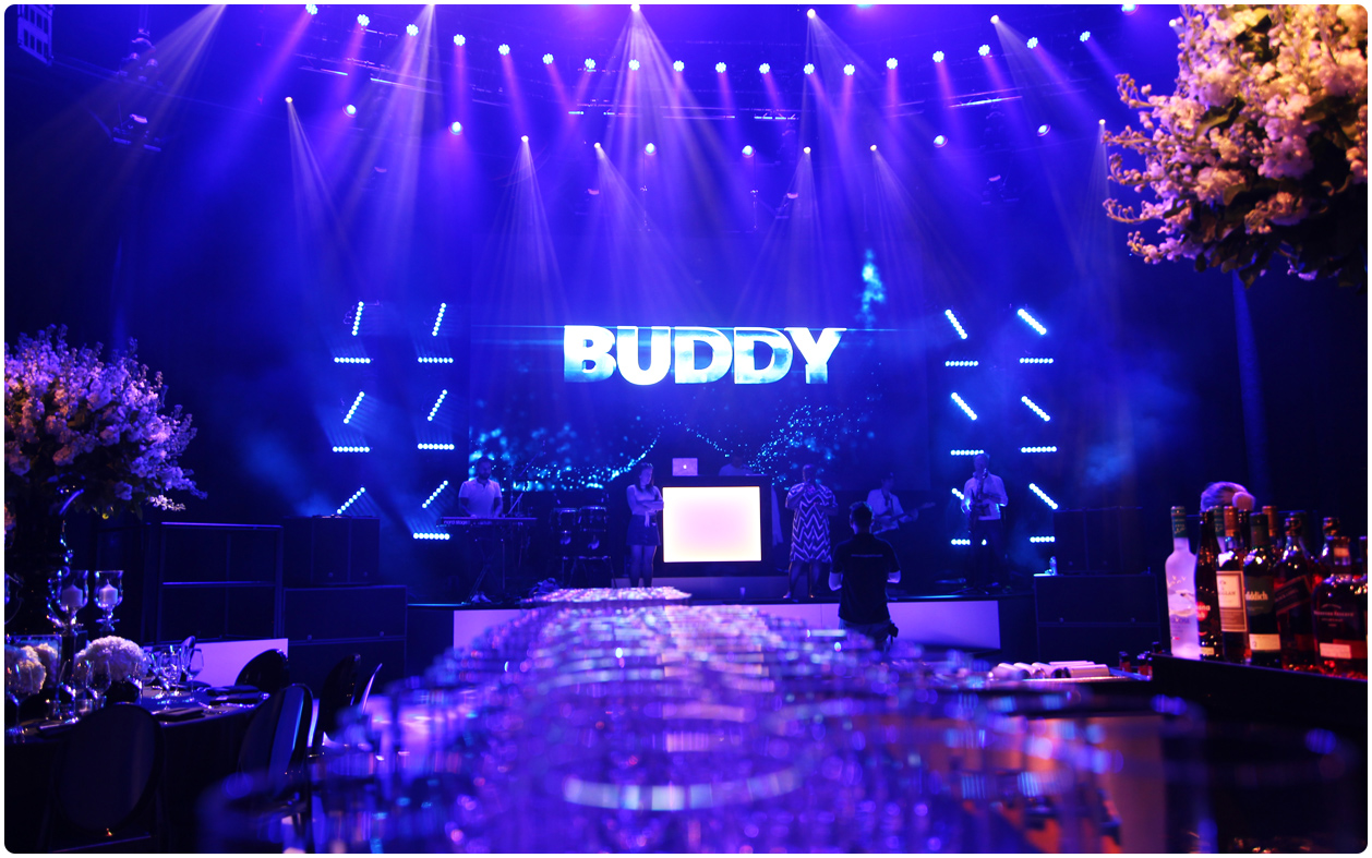6mm LED Screen - Buddy's Bar Mitzvah