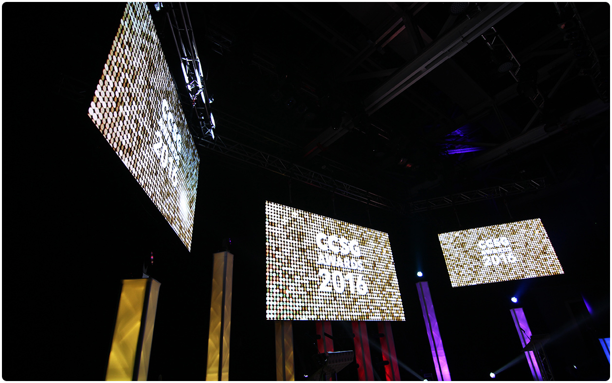 6mm LED Screen - CCSG Awards Warwick - Close Up
