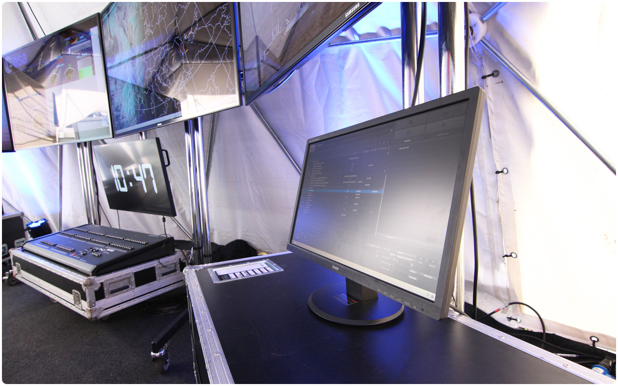 QLab Science Screens