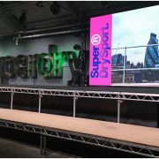 3.9mm LED Screen - Superdry Sportswear Launch