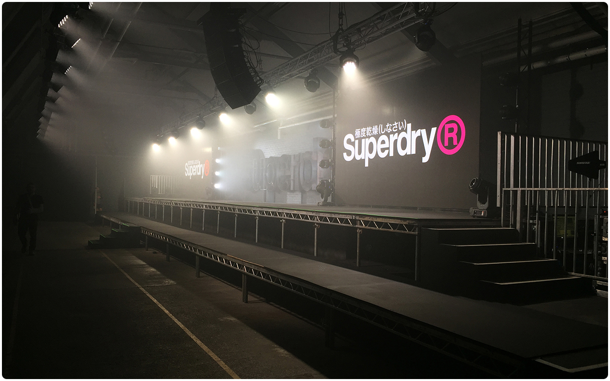 3.9mm LED Screens - Superdry Sportswear Launch