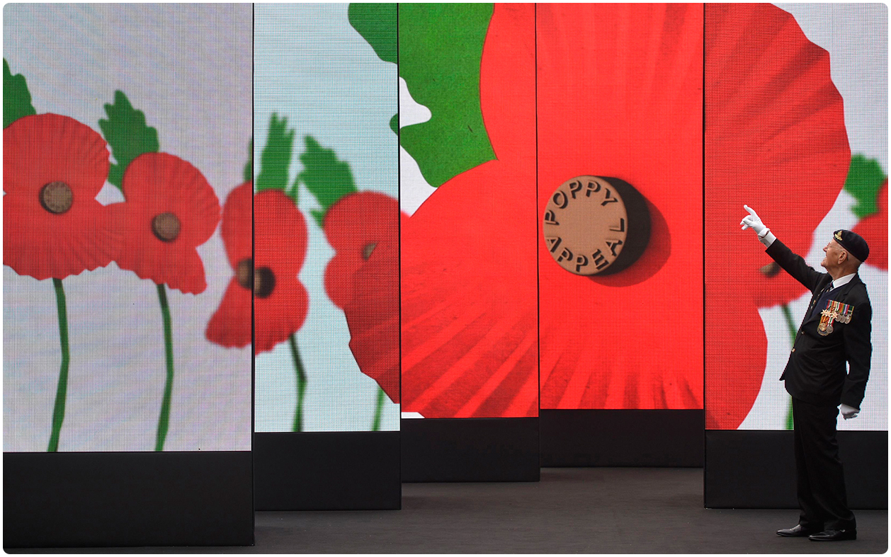 Remembrance 2016 LED Screen Installation