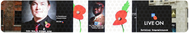 Remembrance LED Screen Banner