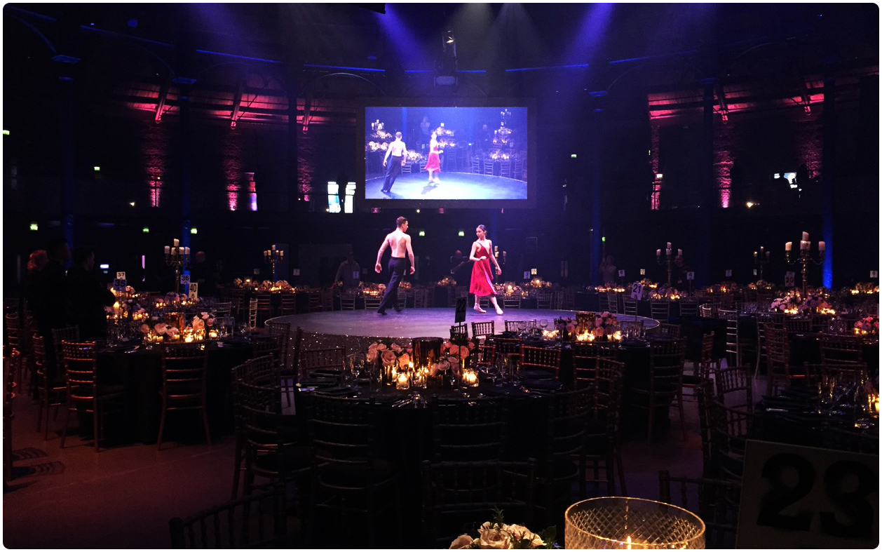 Future Dreams Gala Dinner Projection
