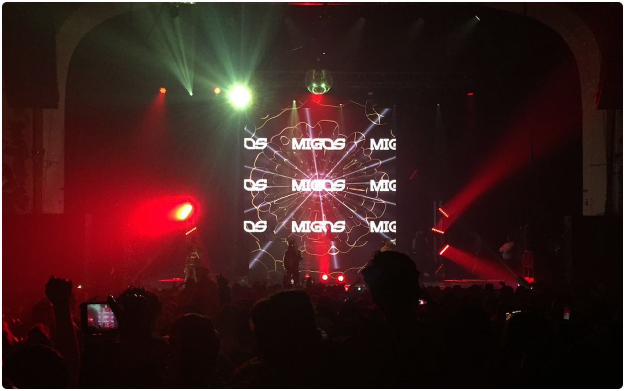 Migos & Lil Yachty Concert Brixton LED Screen 1