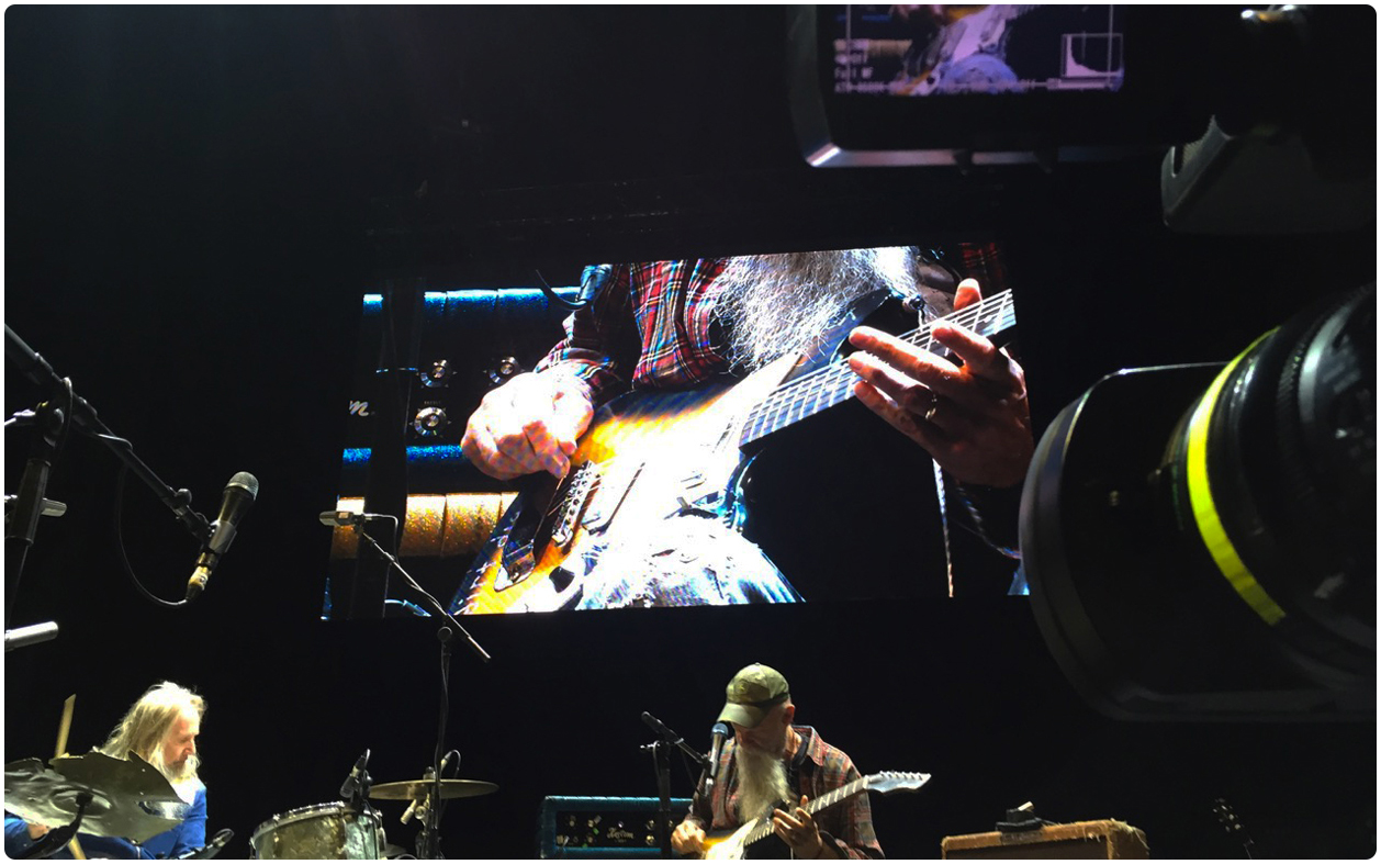 Seasick Steve LED Screen Spring Tour 2