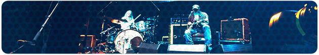 Seasick Steve LED Screen Tour Banner