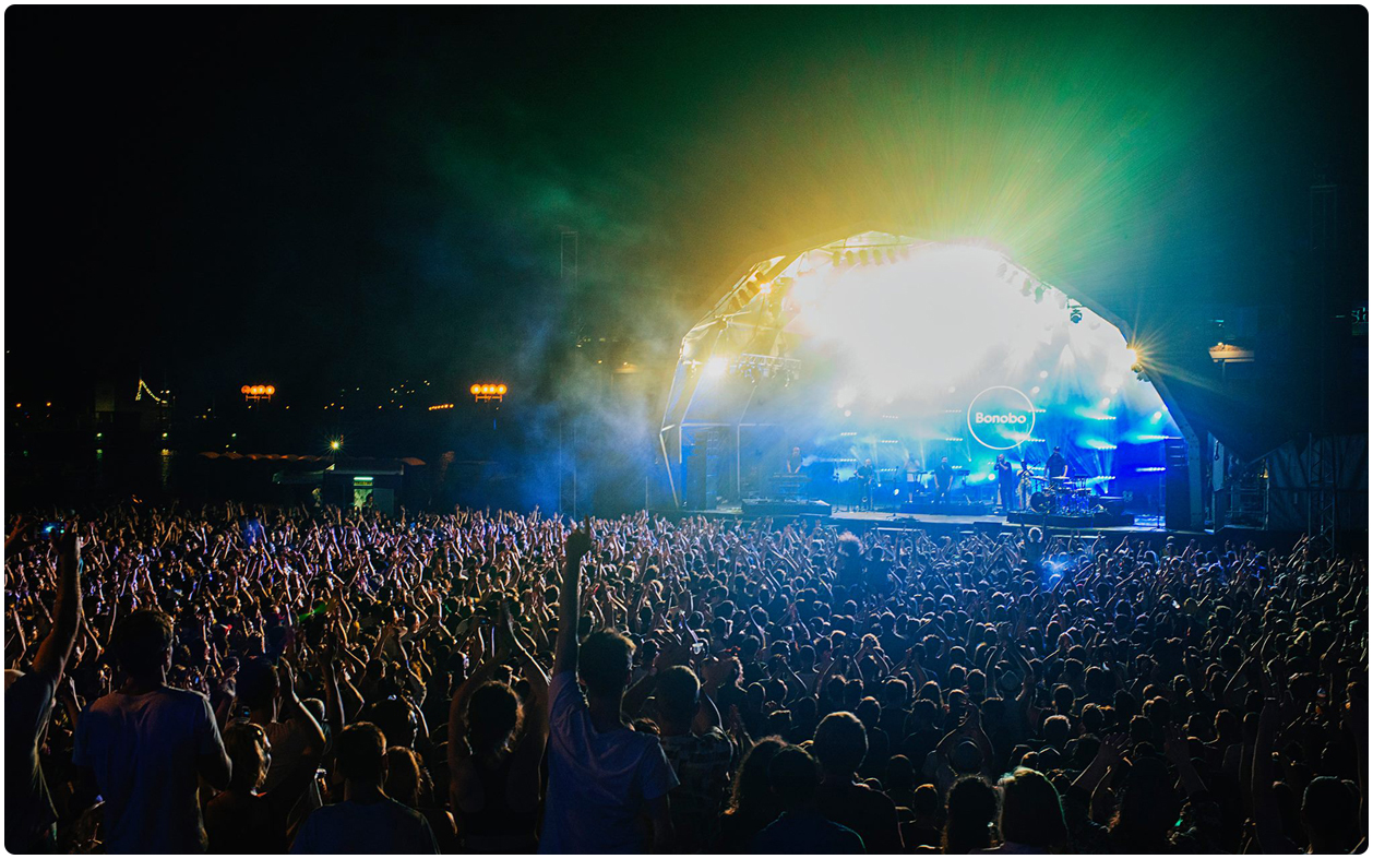 Bristol Sounds Bonobo LED Screen