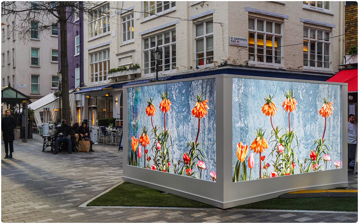 Digital Spring Garden LED Screen Exhibition 4