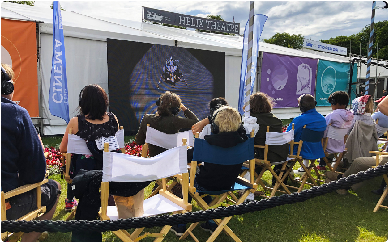 Science Festival 2019 Outdoor LED Screen