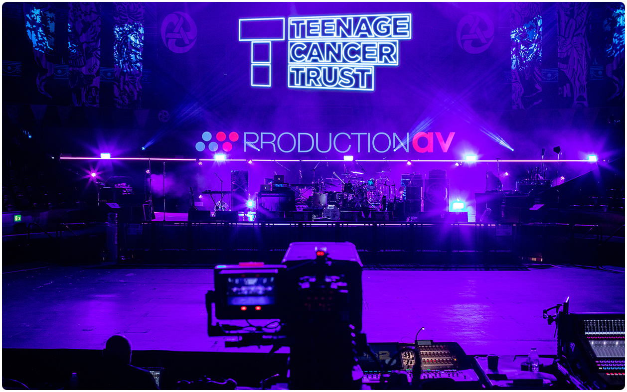 Teenage Cancer Trust 2019 Concert LED Screen Hire 1