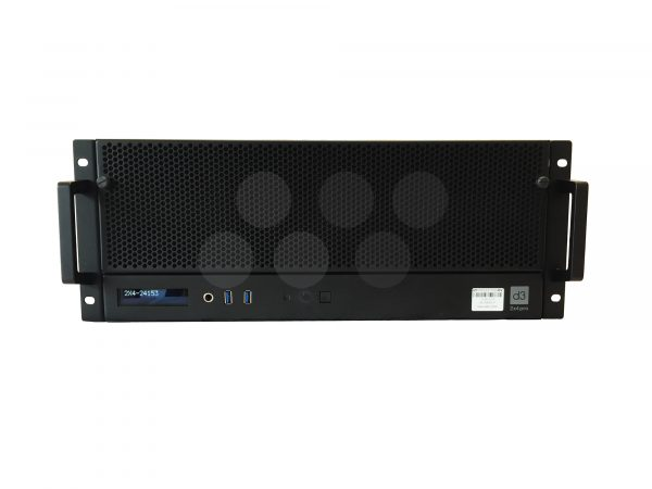 Disguise 2x4pro Media Server Front View