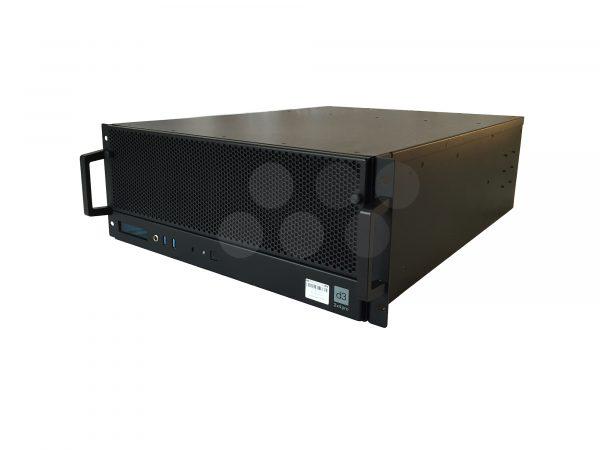 Disguise 2x4pro Media Server Side Shot